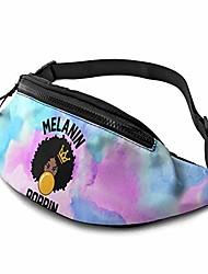 cheap -melanin poppin mens women casual bag outdoor package waist bag