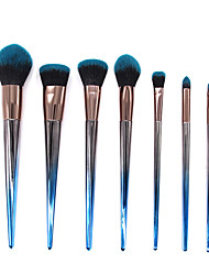cheap -New 7 Colorful Makeup Brush Spiral Color Makeup Brush Makeup Brush Set Beauty Tool
