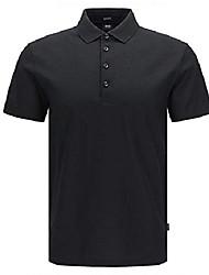 cheap -pack polo shirt black x-large