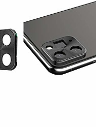 cheap -2pcs metal aluminum back camera lens protector camera ring guard circle case for iphone 11 xi a2111 a2111 a2223 6.1inch black