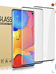 cheap -2-pack Screen Protector for Samsung Galaxy S21 5G S21 Ultra Tempered glass ,9h hardness anti scratch, 3d full coverage protective film for Samsung Galaxy S20 ultra S20+ S10 Lite S10 PLUS