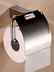 cheap -Toilet Paper Holder New Design / Creative Contemporary / Modern Stainless Steel / Zinc Alloy / Metal 1pc - Bathroom Wall Mounted