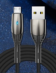 cheap -Micro USB USB C Cable High Speed Quick Charge Data Transmission 3 A 1.0m(3Ft) PVC(PolyVinyl Chloride) For Xiaomi MI Samsung Huawei Phone Accessory