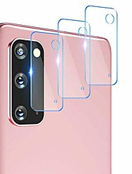 cheap -for samsung galaxy s20 fe 5g hd tempered glass camera lens screen protector x3 (for samsung galaxy s20 fe)