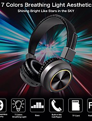 cheap -LITBest Q5 Over-ear Headphone Bluetooth5.0 Stereo with Microphone with Volume Control Auto Pairing for Travel Entertainment
