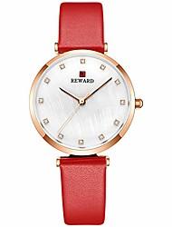 cheap -quartz women leather wrist watch,simple,elegant,fashion gift for girls,waterproof