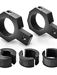 cheap -90023b 2-pack (standard) mounting bracket kit led off-road light vertical bar tube clamp roof roll cage holder,2 years warranty