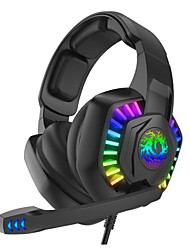 cheap -G2000 Gaming Headset USB Wired with Microphone Sweatproof InLine Control for Gaming PlayStation Xbox PS4 Switch