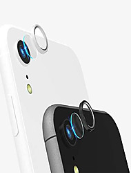 cheap -[2 pack] tempered-glass camera protector for iphone xr 2.5d ultra thin hd anti-fingerprint protective clear film lens with 2 phone camera covers (iphone xr)