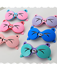 cheap -1pcs Kids Unisex Active / Sweet Cartoon Glasses Blue / Purple / Blushing Pink