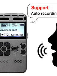 cheap -Professional HD Digital Voice One-button Record Noise Reduction Reducation Dictaphone 8G Large Capacity Recorder USB Recharge Support Expansion