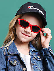 cheap -1pcs Kids Unisex Active / Sweet Solid Colored / Cartoon Glasses Black / Blue / Red One-Size