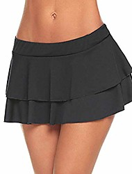 cheap -womens fashion club low-waisted sexy mini sleepwear skirt (black,l)