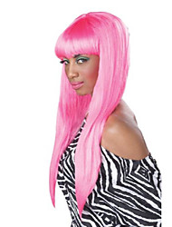 cheap -bubble gum wig, hot pink, one size