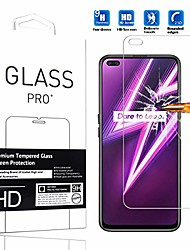 "cheap -suitable for realme 6 pro screen protector tempered glass film [1 pc] high definition anti-scratch cellphone protective film for realme 6 pro 2020 6.6"" -1pcs"