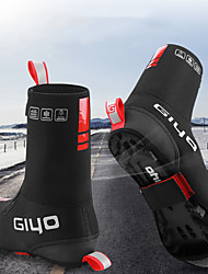 cheap -Adults' Cycling Shoes Cover / Overshoes Windproof Cycling / Bike Black Men's Cycling Shoes