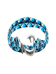 cheap -adjustable hook bracelet - blue snake…