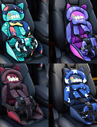 cheap -Child Car Safety Seat Adjustable Portable Convenient Breathable cotton fabric Baby Safety Seat Childen Protect Highly Portable Seat  universal All years (012years old)