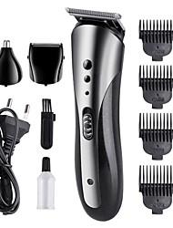 cheap -KEMEI KM-1409 Carbon Steel Head Hair Trimmer Rechargeable Electric Razor Men Beard Shaver Electric Hair Clipper