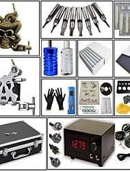 cheap -Professional Tattoo Kit Tattoo Machine - 2 pcs Tattoo Machines, High Speed / Professional Level / Voltage Adjustable Steel / Alloy # 1 steel machine liner & shader / 1 alloy machine liner & shader