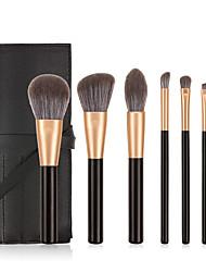 cheap -Professional Makeup Brushes 7 PCS Soft Full Coverage Adorable Lovely Comfy Wooden / Bamboo for Makeup Tools Blush Brush Foundation Brush Makeup Brush Lip Brush Eyeshadow Brush