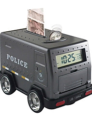 cheap -Piggy Bank / Money Bank Family Armored Car / Cash Truck Alarm Clock Password Lock Large Size Shocking Bank Plastic Shell For Kid's Boys' Girls' / 14 years+