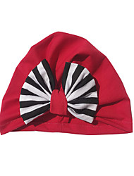 cheap -1pcs Toddler / Infant Unisex Active / Sweet Floral / Patchwork Bow Cotton Hats & Caps White / Black / Red One-Size