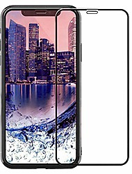 cheap -iphone x/xs 2017 5.8 screen protector  tempered glass 10d hd shatterproof anti-scratch self-adhere full cover easy to install for apple iphone x 2017 iphone xs 2018 [10d black]