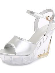 cheap -Women's Dance Shoes Pole Dancing Shoes Heel Thick Heel White Black Yellow Buckle Adults'