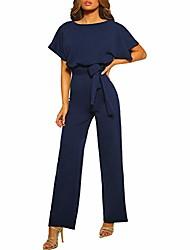 cheap -wei molo rompers for teen girls high waist jumpsuits summer long playsuits straight leg jumpsuit with belt