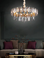 cheap -8-Light 60 cm Chandelier Metal Electroplated Traditional / Classic 110-120V / 220-240V