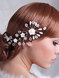 cheap -Rhinestone / Alloy Flowers / Headpiece with Rhinestone 1 Piece Wedding Headpiece