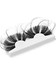 cheap -Mink Lashes 100% Cruelty free Fluffy Wispy Long lasting Eye Lashes Mink Eyelashes Solt False Eyelashes