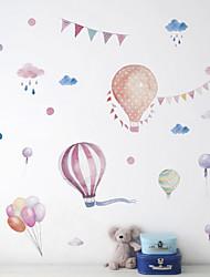 cheap -Cartoon Cute Hot Air Balloon Kindergarten Classroom Wall Decoration Children's Room Background Wall Sticker 30*90CM