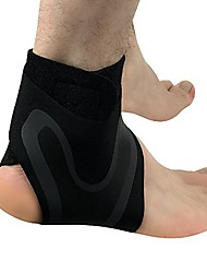 cheap -sports ankle brace adjustable ankle stabilizer arch support sleeve for men women running,football,s-xl (right, s)