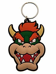 cheap -super mario bowser keyring (one size) (multi-color)