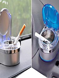 cheap -Universal Car Interior Supplies Accessories Ashtray Car Mini Ashtray With LED Lights