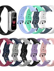 cheap -Smart Watch Band for Samsung Galaxy 1 pcs Sport Band Silicone Replacement  Wrist Strap for Samsung Galaxy Fit SM-R370