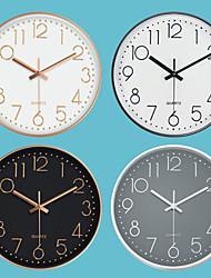 cheap -Fashion Silent Wall Clock Creative Stereo Digital Scale Wall Clock