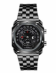 cheap -men's digital watch  outdoor watch compass watch binary time led display 30m waterproof alloy band creative sport army wristwatches (black)