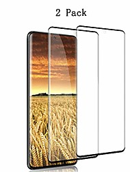 cheap -2 pack galaxy s20 plus screen protector tempered glass, [full coverage] [fingerprint unlock] hd film for samsung s20 plus 5g / s20+ (6.7 inch)