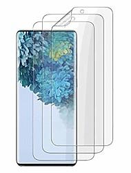 cheap -3-Pack Screen Protector For Samsung Galaxy S21 5G  Tpu Flexible, HD Transparent Self Healing Compatible Fingerprint Sensor For Samsung Galaxy S21Ultra S21plus S20 plus S10 lits S10e