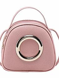 cheap -lady shoulders small handbag letter coin purse cell phone pocket messenger bag pink