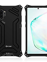 "cheap -galaxy note 10 plus case, aluminum metal premium protection shockproof military bumper heavy duty sturdy protective cover case for samsung galaxy note 10 plus/note 10+ 5g (black, note 10+ 6.8"")"