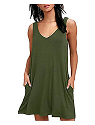 cheap -cover up beach swimsuit bikini elastic coverups swimwear for women v-neck army green medium