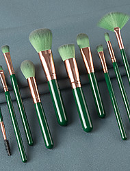 cheap -Professional Makeup Brushes 10pcs Soft Full Coverage Adorable Comfy Wooden / Bamboo for Makeup Tools Eyeliner Brush Blush Brush Foundation Brush Makeup Brush Lip Brush Lash Brush Eyebrow Brush
