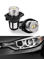 cheap -LED Angel Eyes LED Light 2Pcs 12W Halo Ring Marker Light Angel Eyes Bulbs for BMW E90 E91 Auto Lamps 4 Light Colors To Choice