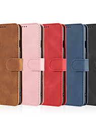 cheap -Phone Case For OnePlus Full Body Case Leather OnePlus 8 Pro OnePlus 8 OnePlus 8T OnePlus Nord Shockproof Solid Color PU Leather