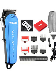 cheap -WMARK NG-103Plus Professional cordless Hair cutter Hair Trimmer 6500 rpm hair clipper adjustable length with Stagger-Tooth blade