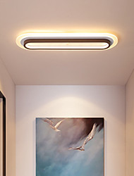 cheap -40/60/80cm LED Ceiling Light Modern Porch Light Corridor Aisle Geometric Shapes Flush Mount Lights Aluminium Alloy Painted Finishes 110-120V 220-240V